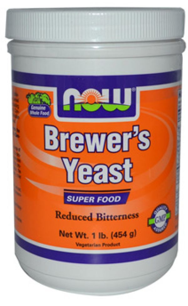 Now Foods Brewers Yeast 1 Lb