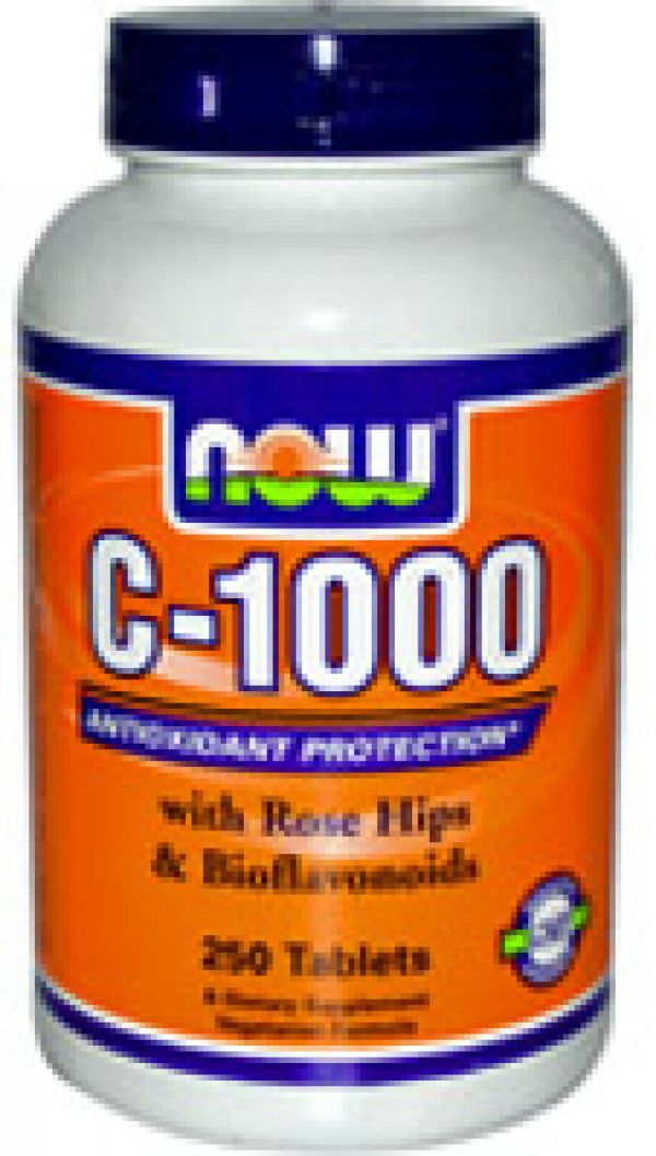 Now Foods C-1000 w/Bioflavanoids 250 Caps