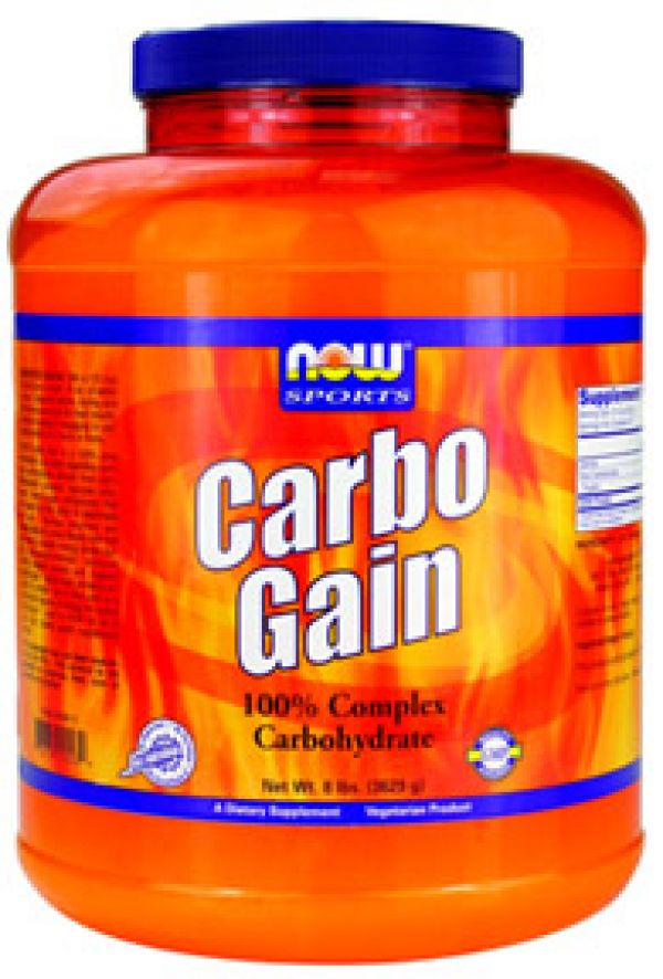 Now Foods Carbo Gain 8 lbs