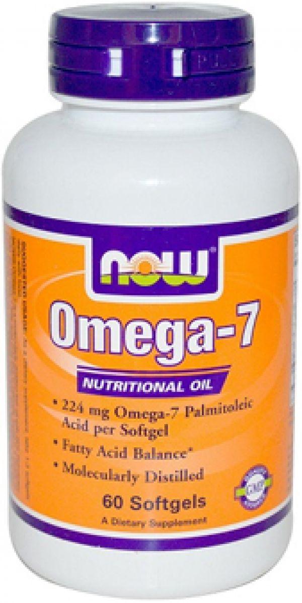 Now Foods Omega-7 60 Softgels