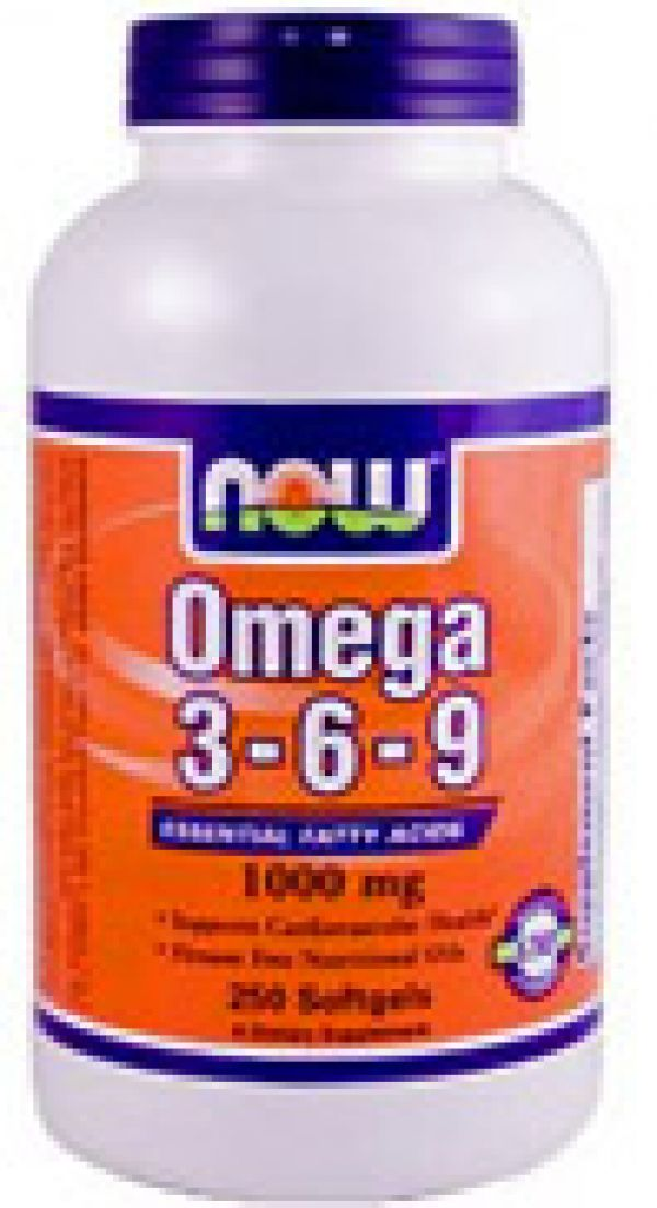 Now Foods Omega 3-6-9 1000mg 100 Gels
