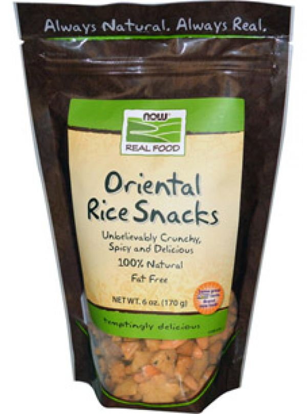 Now Foods Oriental Rice Snacks 6 oz