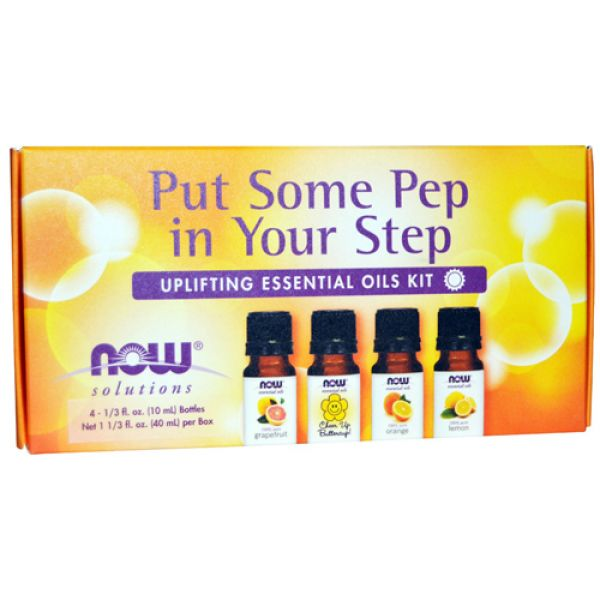 Now Foods Put Some Pep In Your Step- Uplifting Essential Oils Kit