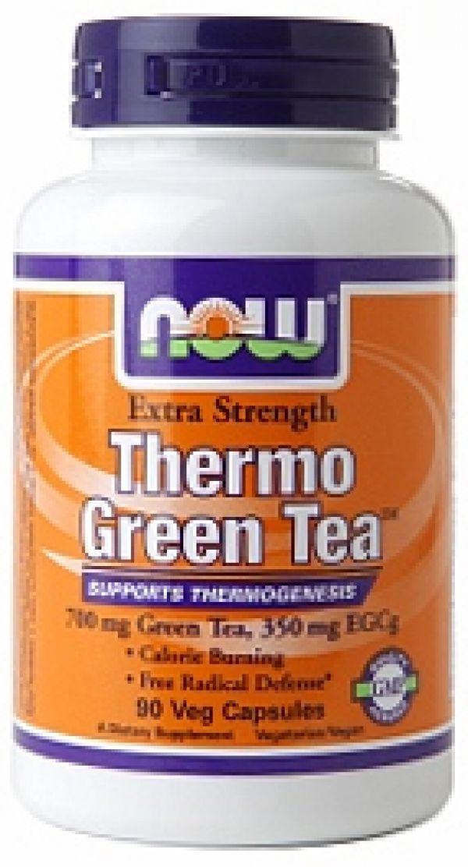 Now Foods Thermo Green Tea 90 Vege Caps