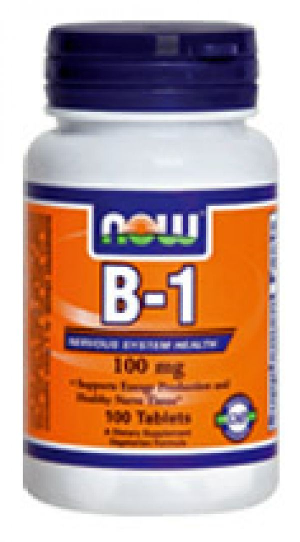 Now Foods Vitamin B-1 100mg 100 Tabs