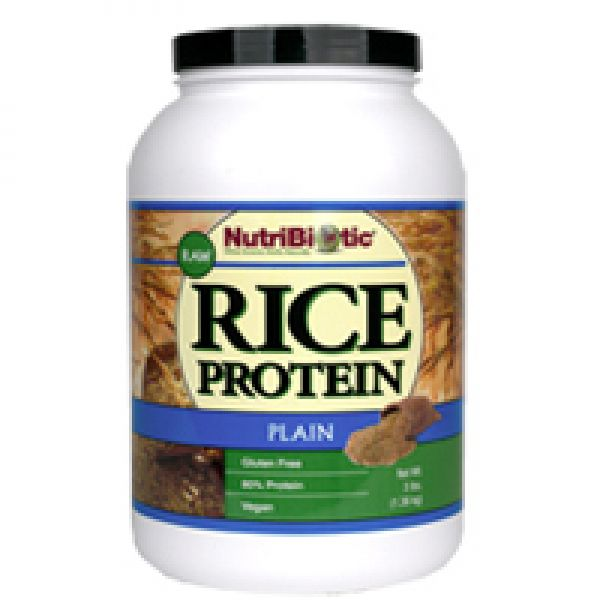 NutriBiotic Rice Protein 3 Lbs