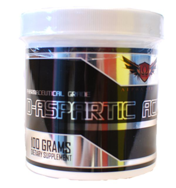 Omega Sports D-Aspartic Acid 100 Grams