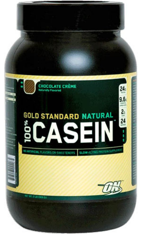 Optimum Nutrition 100% Natural Casein 2 Lbs