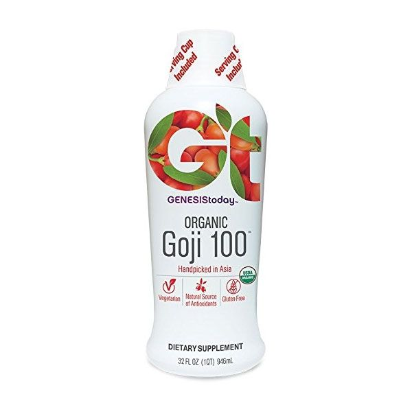 Genesis Today Goji 100 100% Pure Wild Harvested Goji Juice