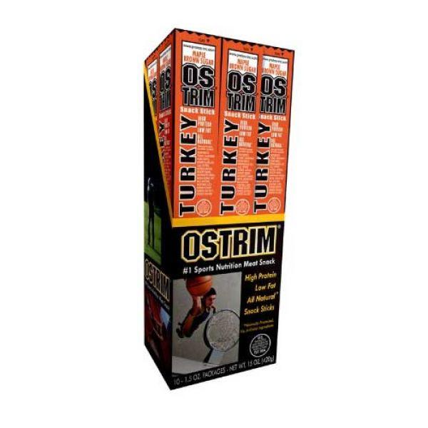 Ostrim High Protein Jerky 10/Box