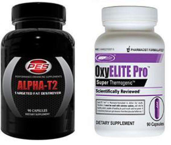 OxyElite Pro & Alpha-T2 Stack