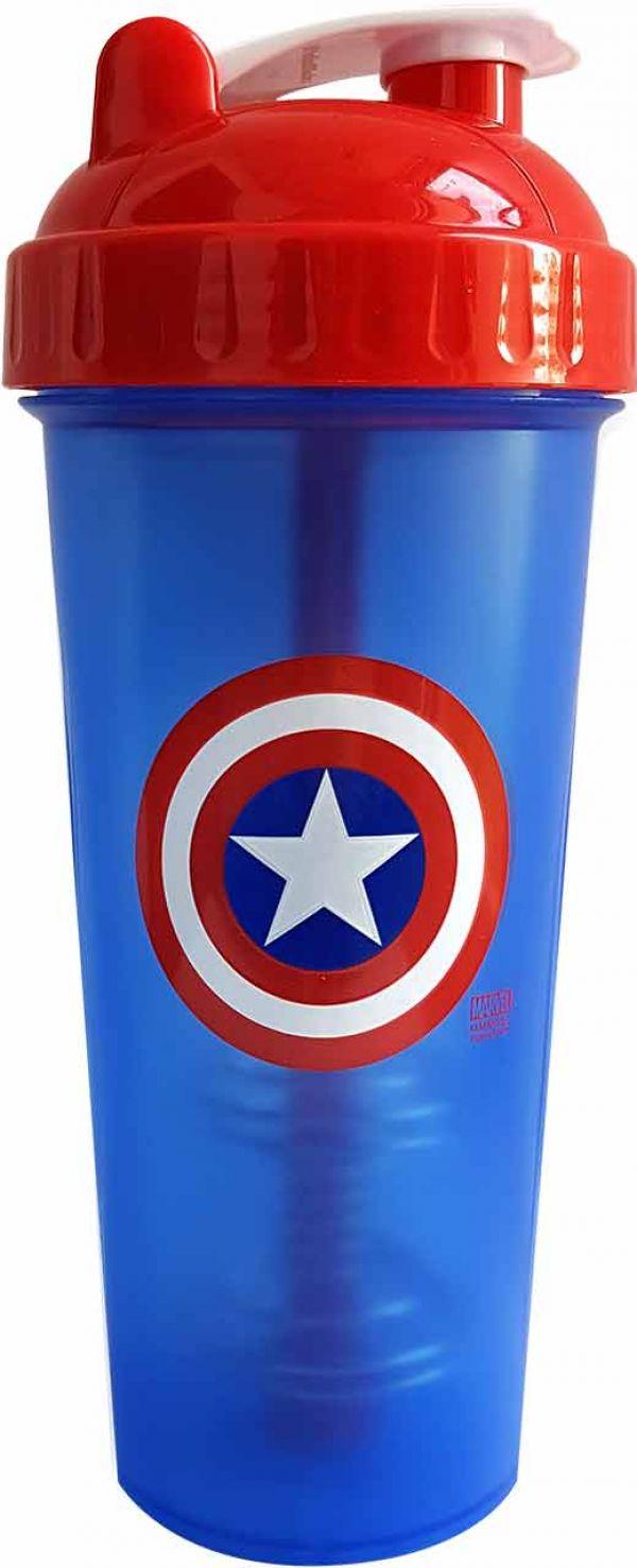 PerfectShaker Captain America Shaker Bottle 28oz