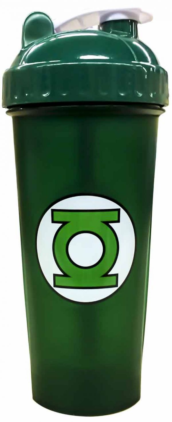 PerfectShaker Green Lantern Shaker Bottle 28oz