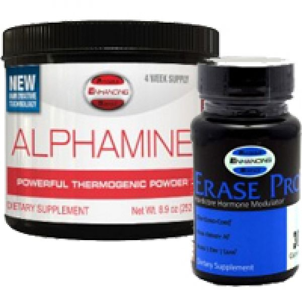 PES Alpha Pro Stack (Alphamine + Erase Pro) for weight loss