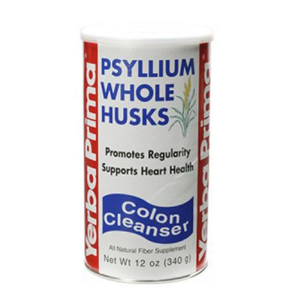 Yerba Prima Psyllium Whole Husks 12 oz