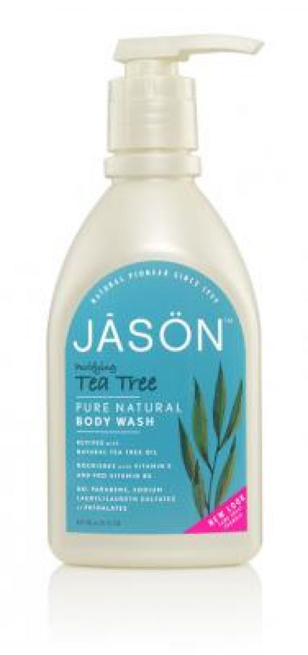 Jason Tea Tree Satin Body Wash 30 oz