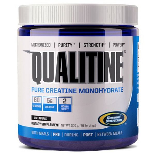 Gaspari Nutrition Qualitine Creatine 300 Grams