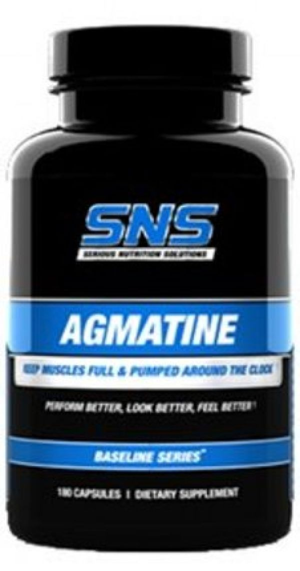 Serious Nutrition Solutions Agmatine 250mg 180 Caps
