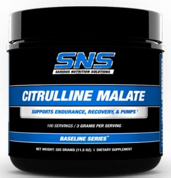 Serious Nutrition Solutions Citrulline Malate 100 Servings