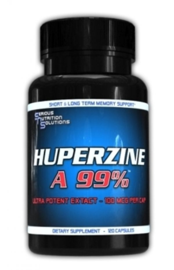 Serious Nutrition Solutions Huperzine A 120 Caps