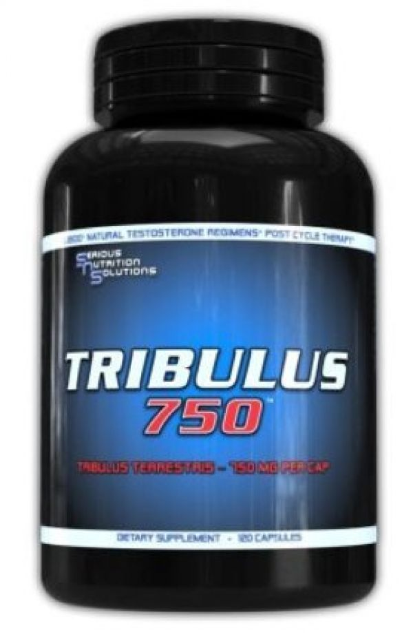Serious Nutrition Solutions Tribulus 750 120 Caps