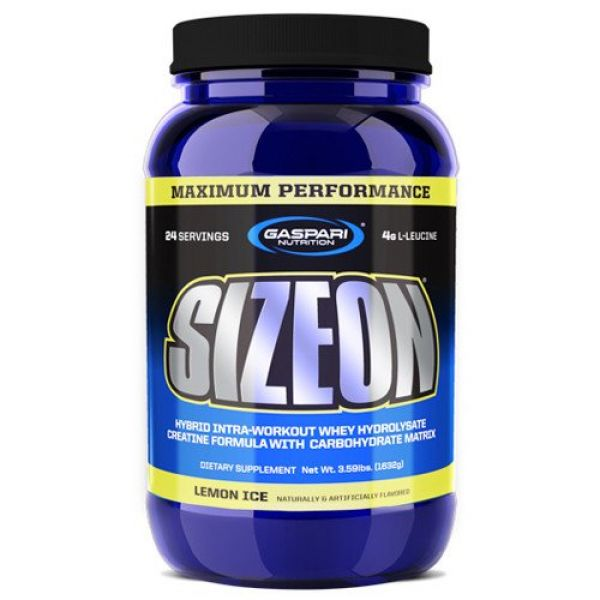Gaspari Nutrition Size On Max Performance