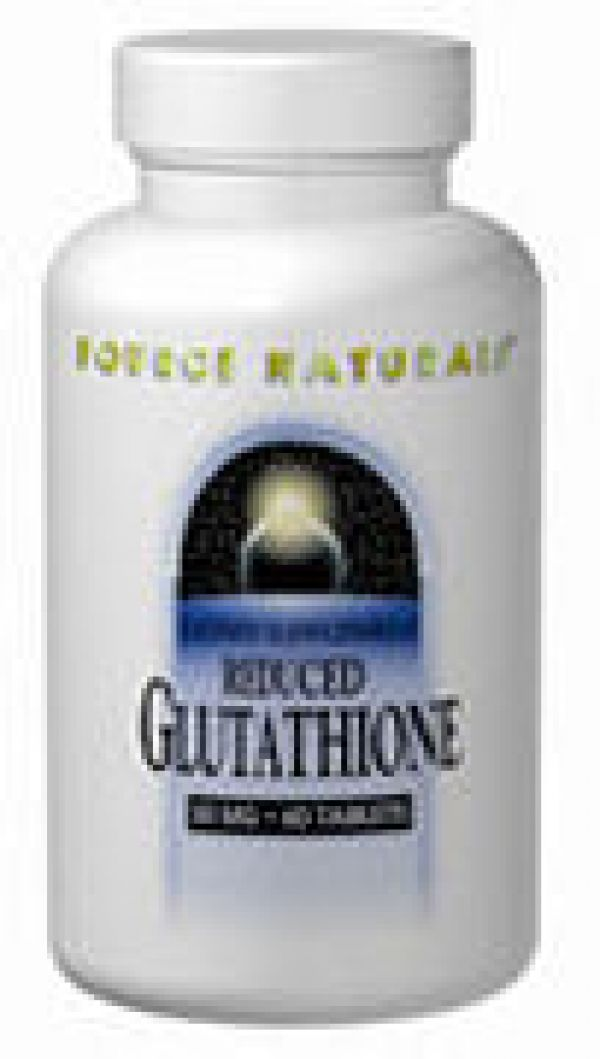 Source Naturals Glutathione (Reduced) 250mg 60 Caps