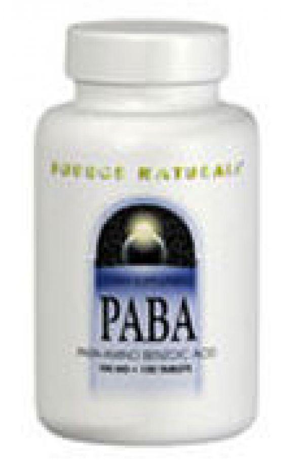 Source Naturals PABA 100mg 100 Tabs