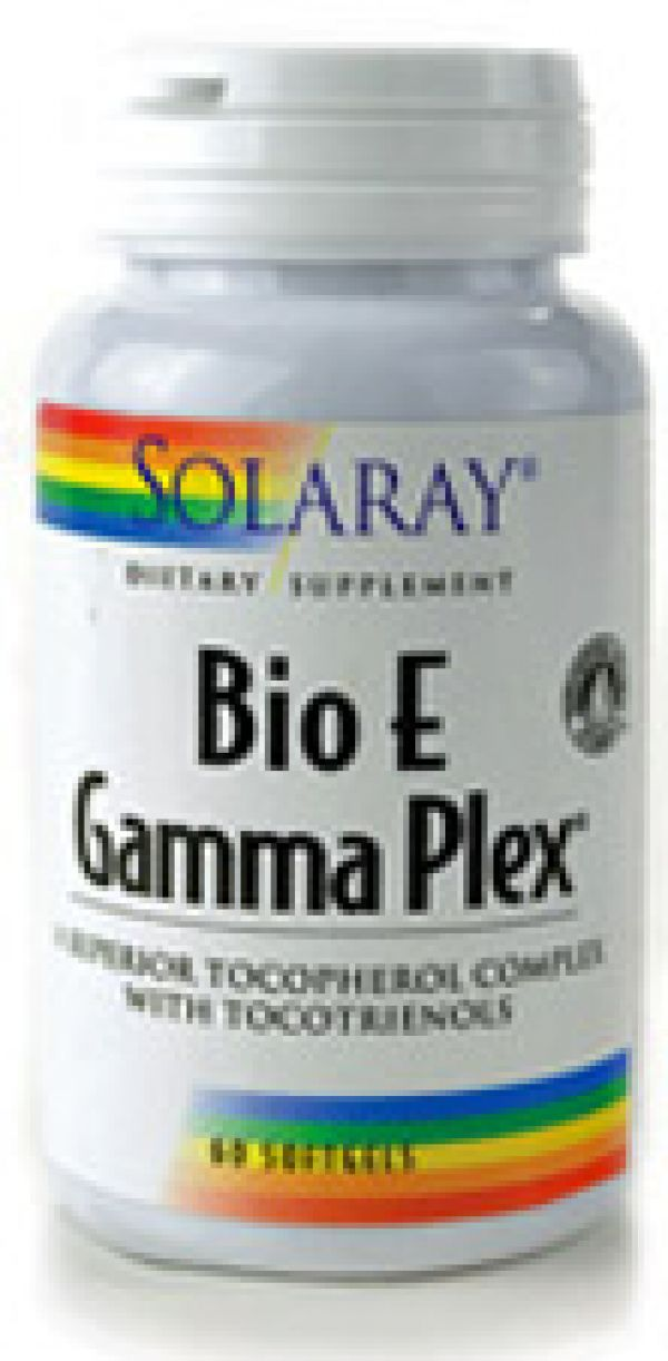 Solaray Bio E Gamma Plex 400 IU 60 Softgels