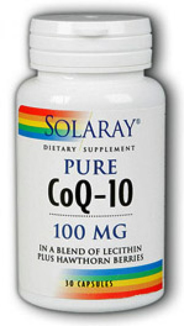 Solaray CoQ-10 100mg 30 Caps