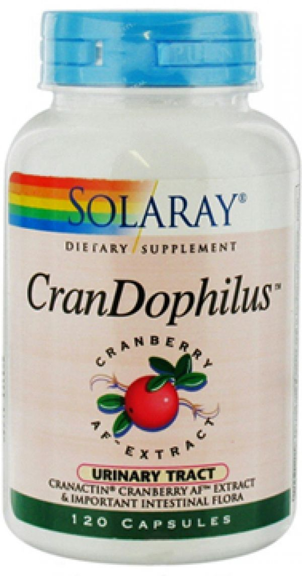 Solaray CranDophilus 120 Caps