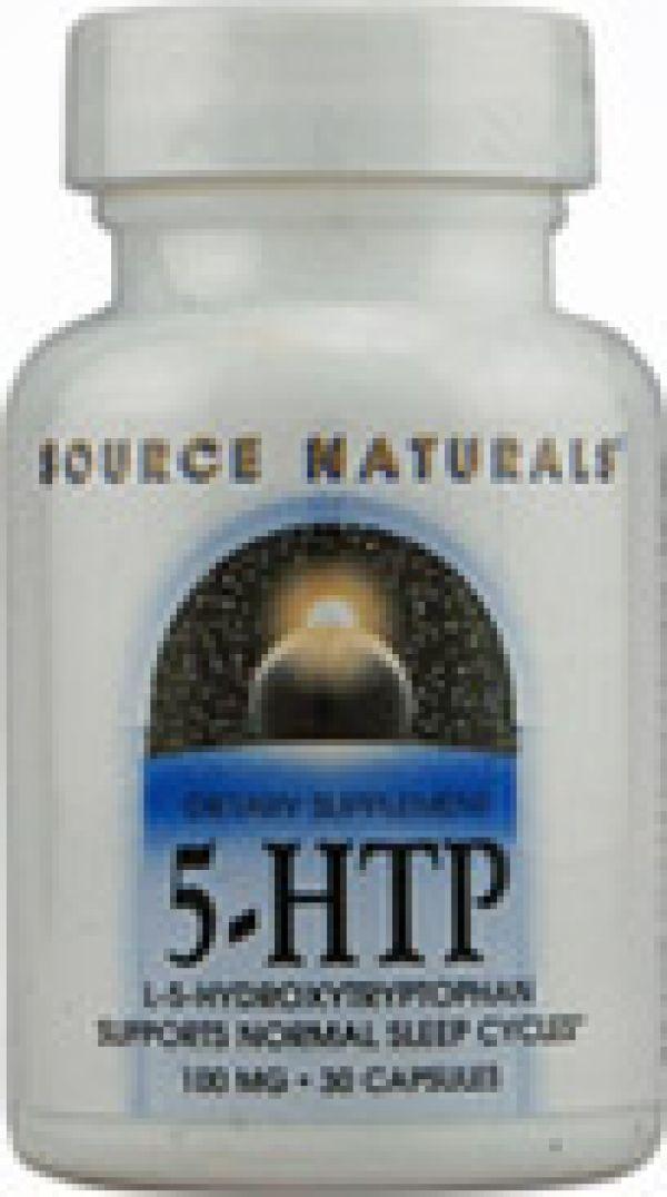 Source Naturals 5-HTP 50mg 30 Caps