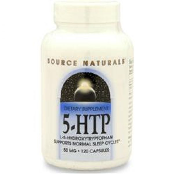 Source Naturals Pure 5-HTP 50mg 120 Caps