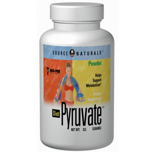 Source Naturals Diet Pyruvate 500mg 60 Caps