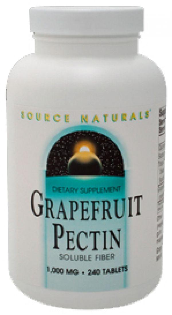 Source Naturals Grapefruit Pectin 1000mg 240 Tablets