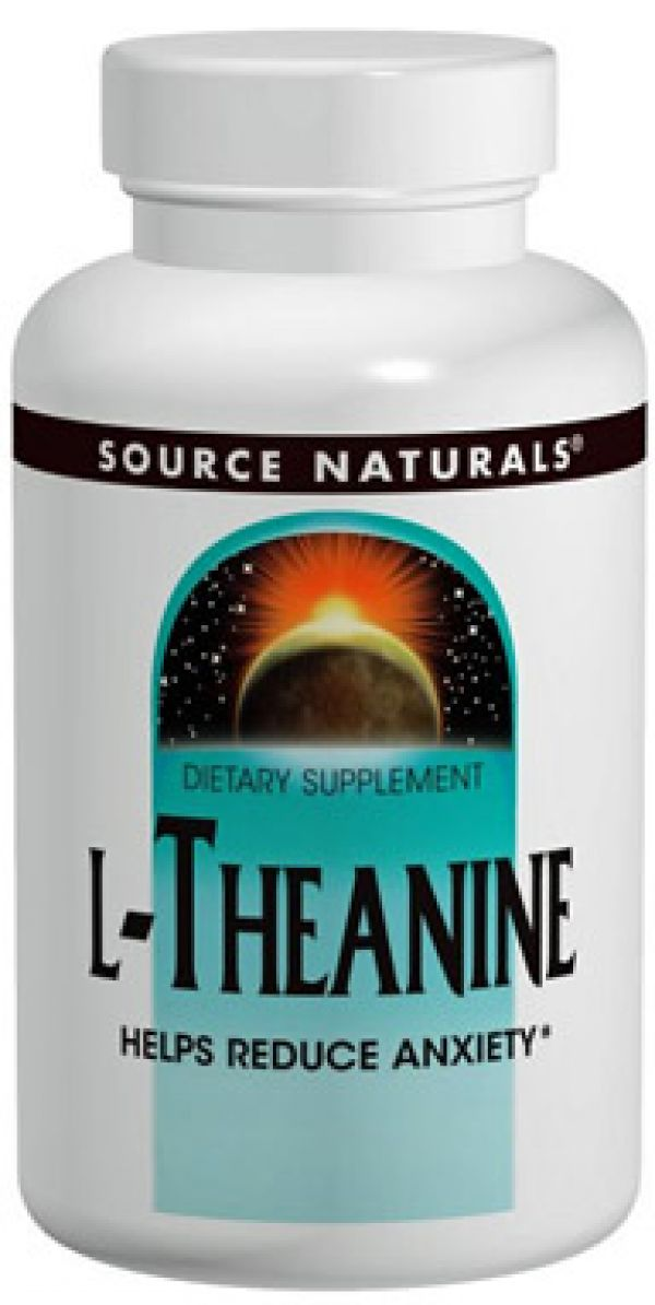 Source Naturals L-Theanine 200mg 30 Caps