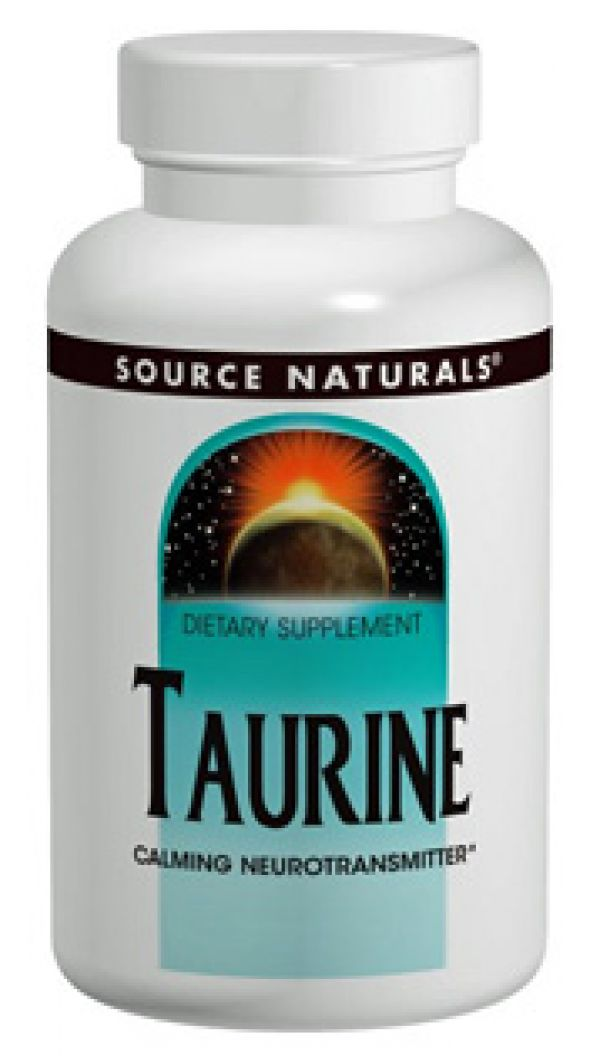 Source Naturals Taurine 1000mg 60 Caps