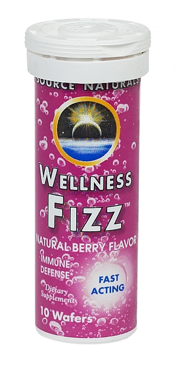 Source Naturals Wellness Fizz 10 Wafers