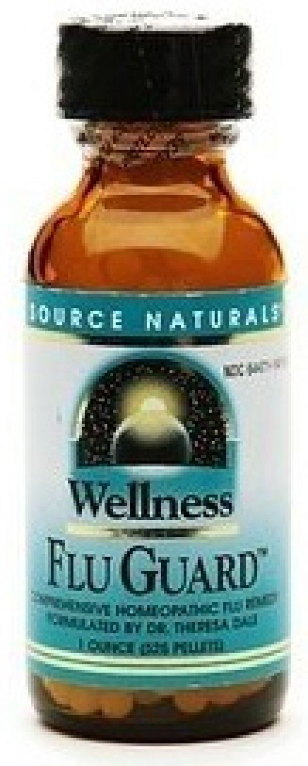 Source Naturals Wellness Flu Guard 1 Oz (525 Pellets)