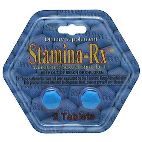 Hi-Tech Pharmaceuticals Stamina-Rx 2 Tabs 24 Pack