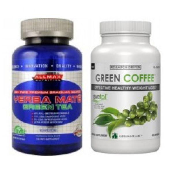 Svetol® Green Coffee Bean Extract & Yerba Mate Stack