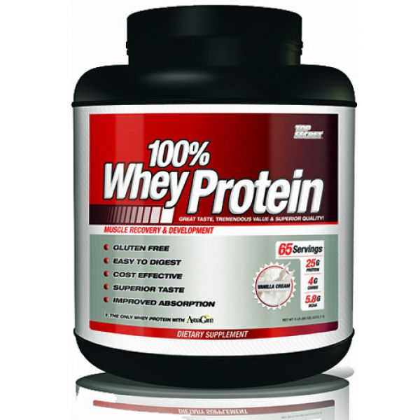Top Secret Nutrition 100% Whey Protein 5 lb (80 oz