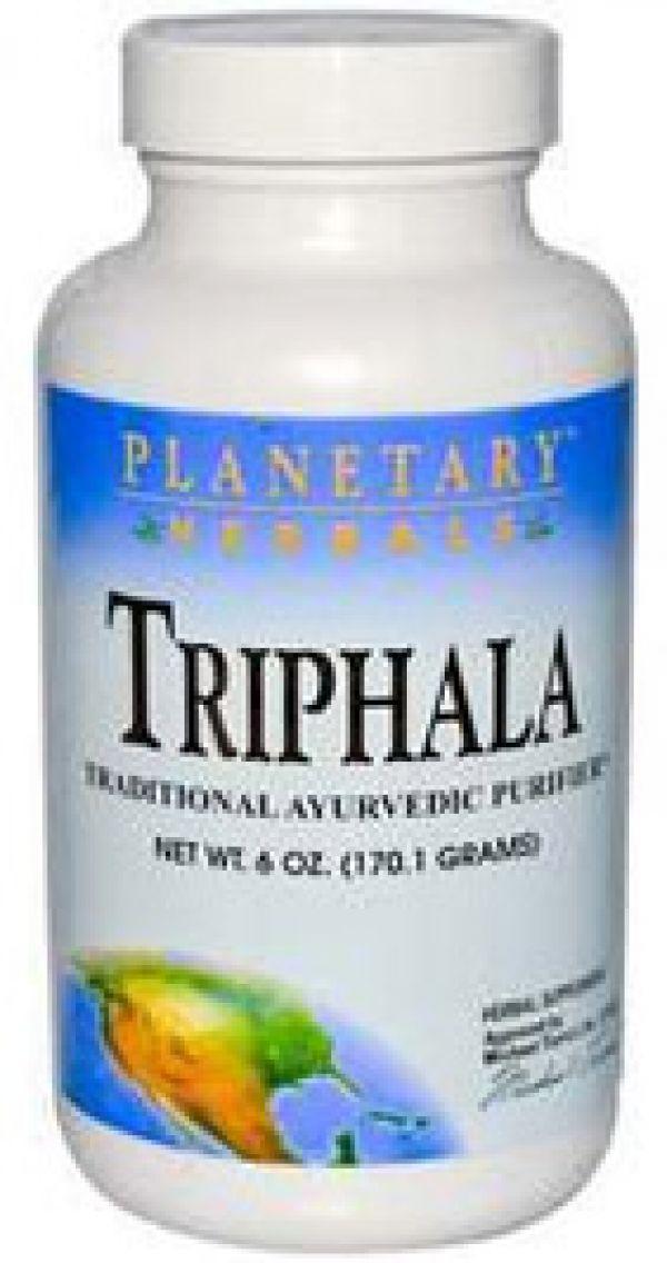 Planetary Herbals Triphala Powder 6 Oz