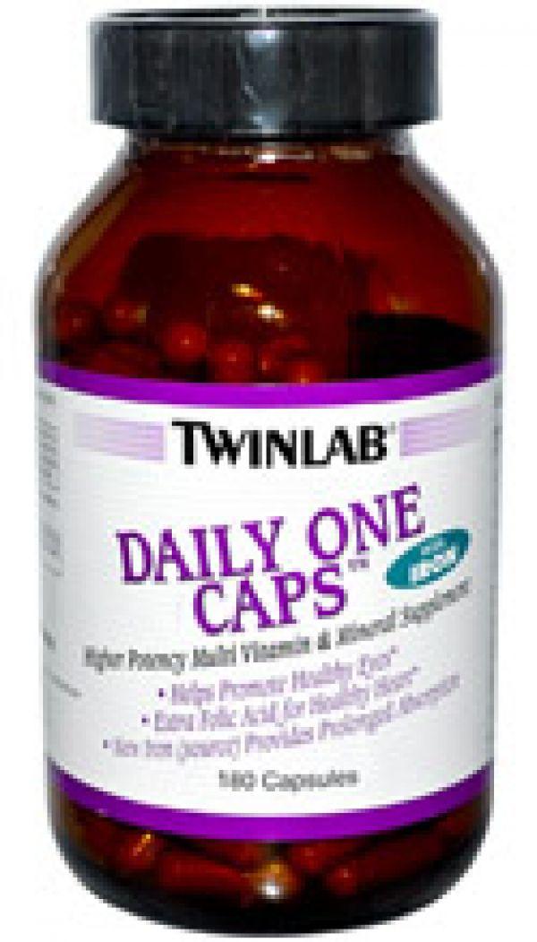 Twinlab Daily One w/ Iron 180 Caps