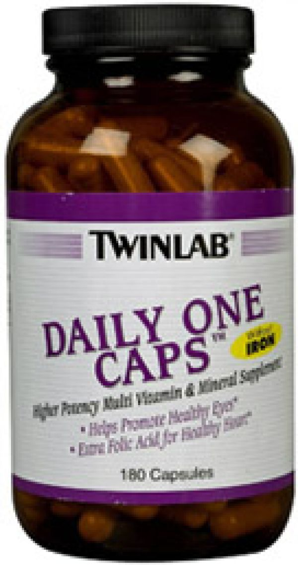 Twinlab Daily One w/o Iron 180 Caps