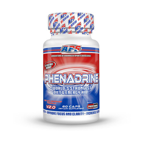 APS Nutrition Phenadrine 60 Cap