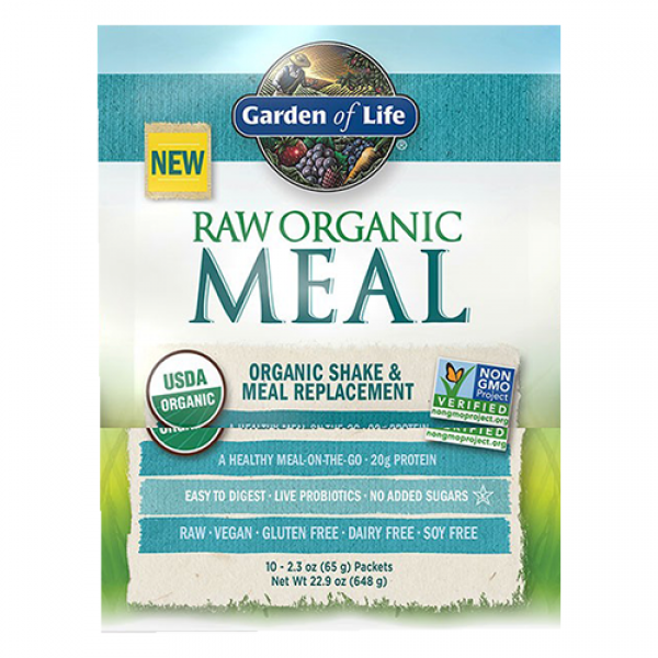 Garden of life raw meal packets organic Garden of life meal replacement reviews