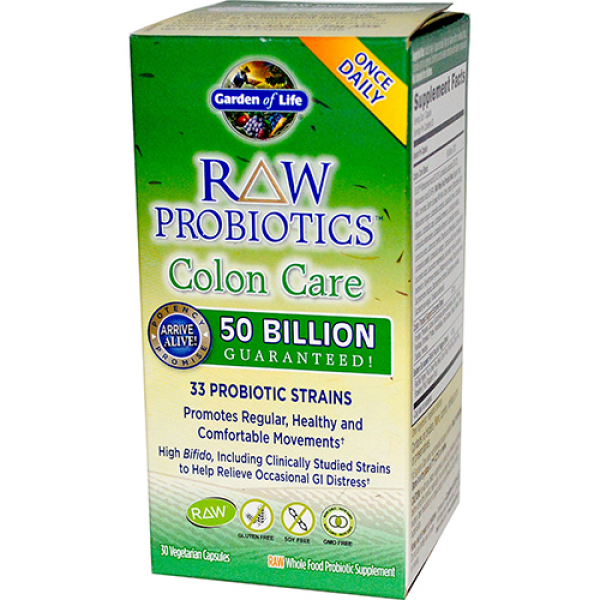 Garden of life raw probiotics colon care health aid - Garden of life raw meal weight loss results ...