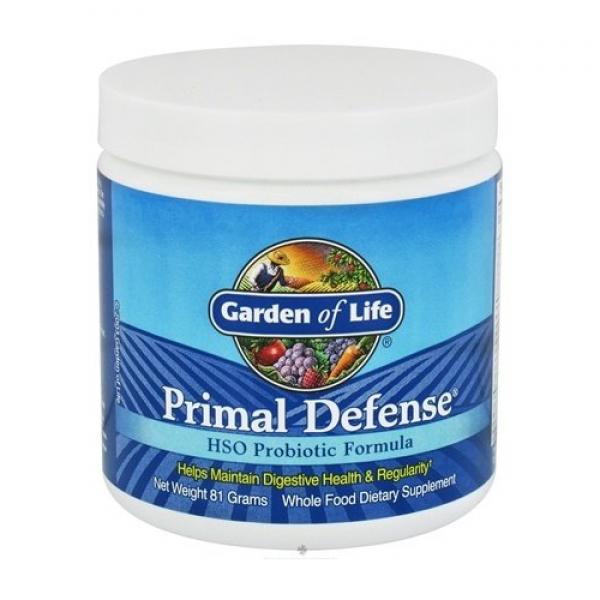 Primal Defense Powder Hso Probiotic Formula Discount Garden Of Life Primal Defense Powder Hso