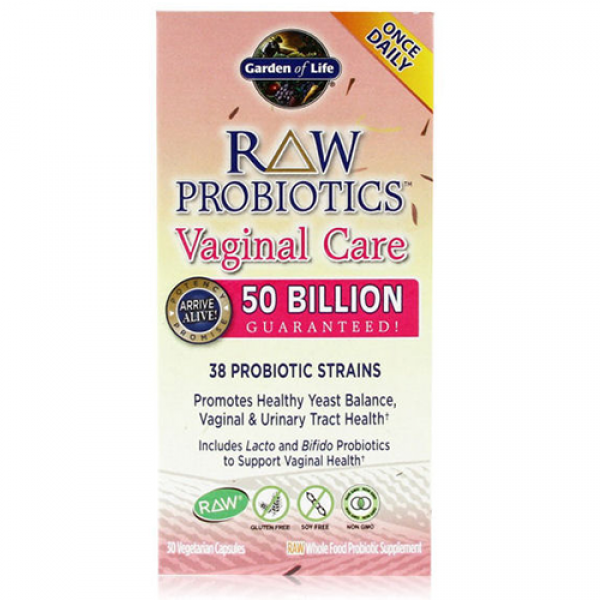 Garden of Life Raw Probiotics Vagina Urinary Tract Care
